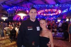 Niki Kovacs und Dori (Bildquelle: PokerNews.com)