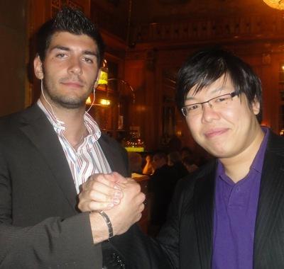 Der Erstplatzierte mit dem Zweiten, Jia Tse