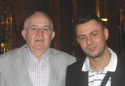 Der Sieger Albert Ushky mit dem Drittplatzierten Theo Krum