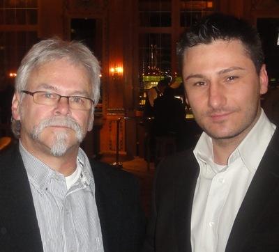 Alfred Rossel (2) und Arthur Koenov (1)