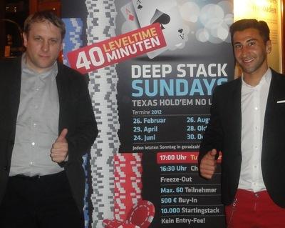 Daniel Matissek (1) und Paco Kaplan (2)